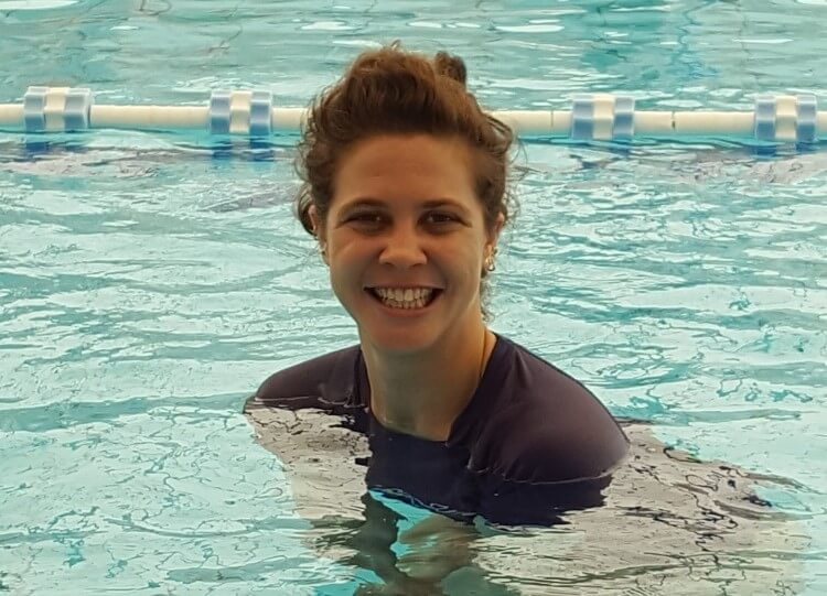 מעיין רבינוביץ - מדריכת שחייה