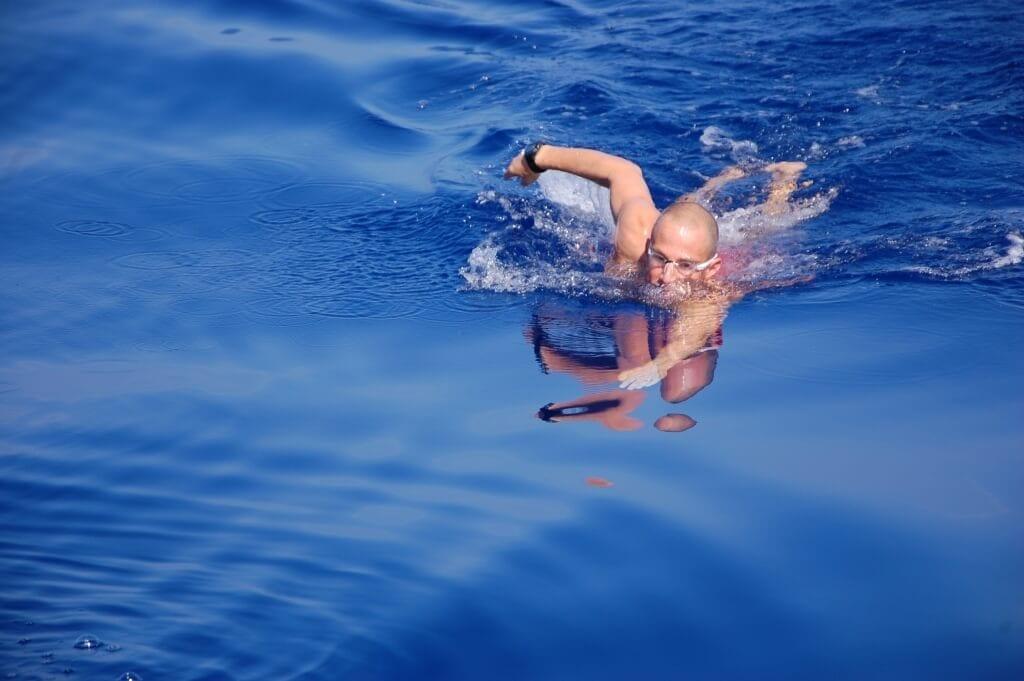 קורס מדריכי שחייה במים פתוחים