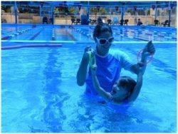 תרגילים בבריכה לפעוטות