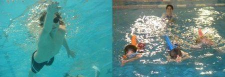 מצוף SWIMFIN ללימוד שחייה לילדים