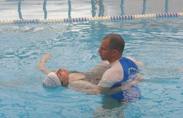 טיפול במים לכאבי שרירים