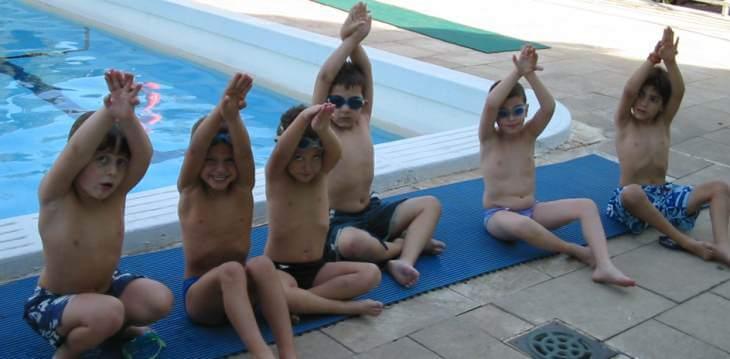 קבוצות אימון שחייה לילדים