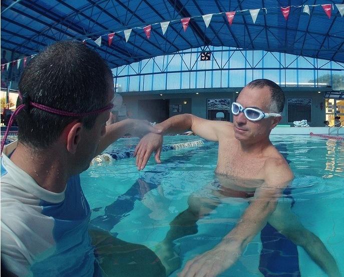 שחיה עם ליקוי ראייה