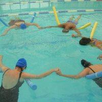 אירובי, התעמלות הידרותרפית במים