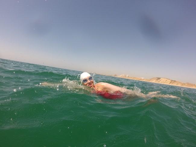 אבישג טורק - שחייה במים פתוחים