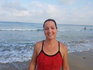 שלומית דקל - לימוד שחייה