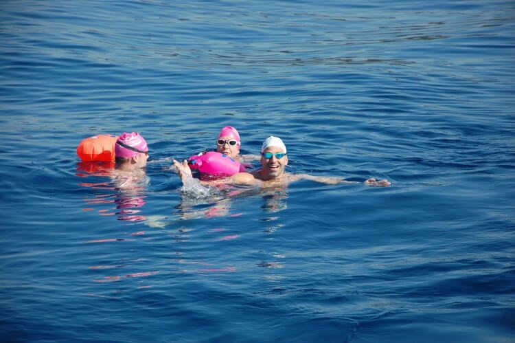 כללי בטיחות לשחייה בים - מצוף מים פתוחים