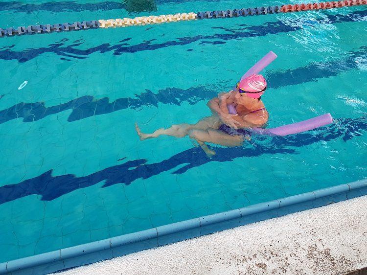 תרגילי ריצה במים