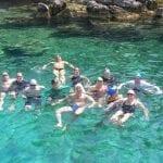 מחנה אימוני שחייה במים פתוחים