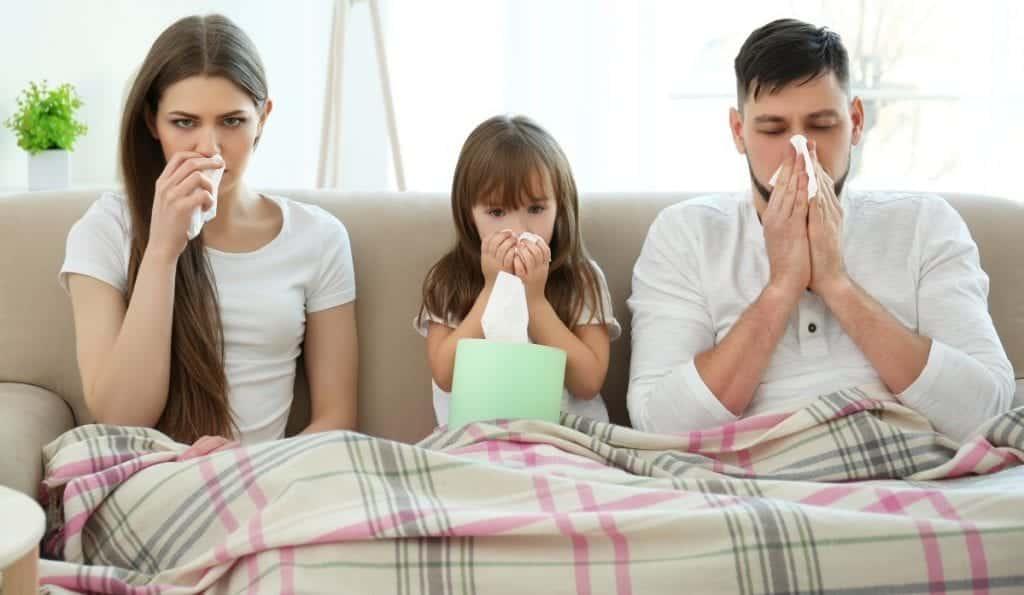 הימנעות ממחלות עונתיות